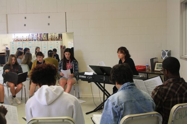 Chorus Musical Theater Students