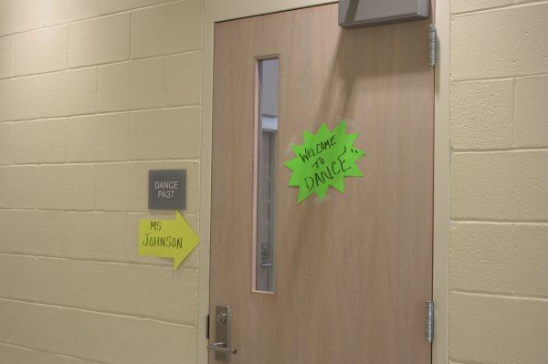 Dance Studio Door