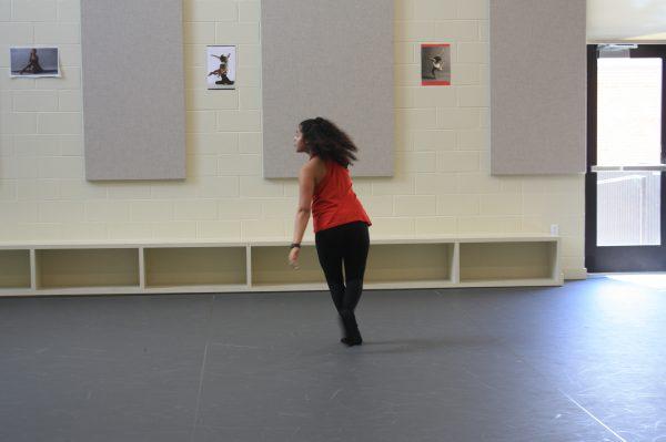 Dancer in the Dance Studio