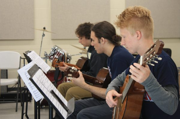 Guitar Students Playing