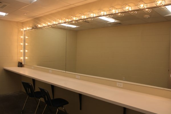 Theater Department Dressing Room Mirror