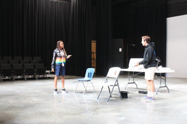 Theater Drama Play Practice